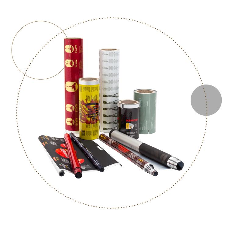Packaging in bobine